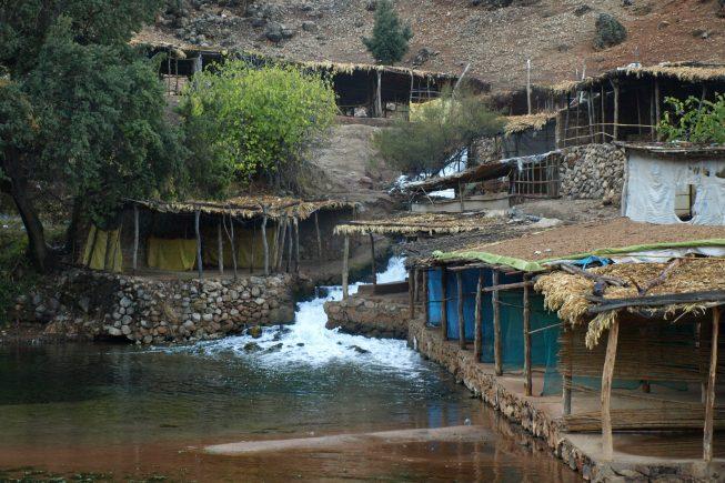 Rápidos de Oum Er-Rbia: En el centro del Atlas, donde aguas dulces, saladas y cristalinas se juntan en rápidos y cascadas.